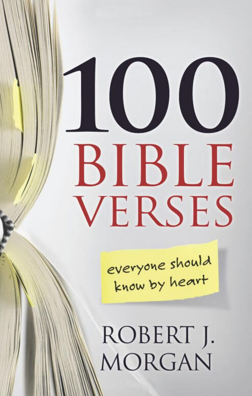 100 Bible Verses Everyone Should Know by Heart - Book Cover